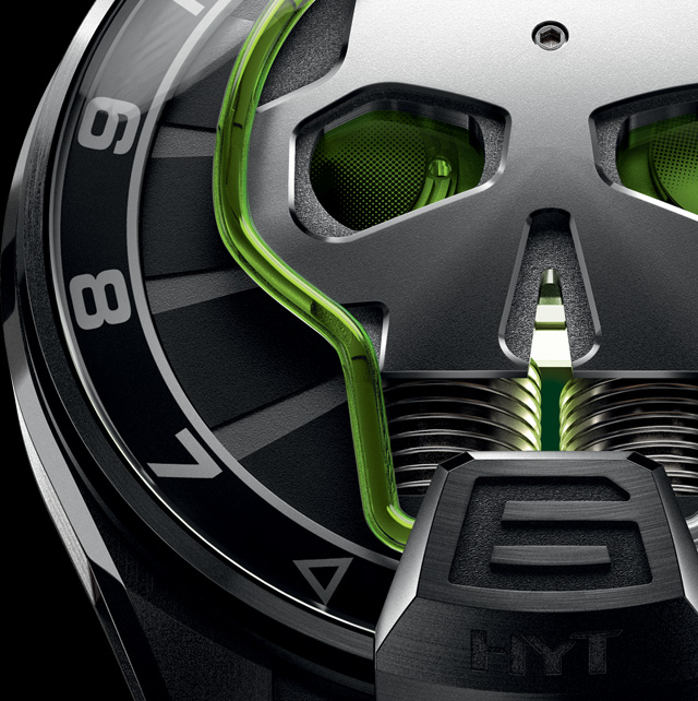 HYT SKULL GREEN EYE