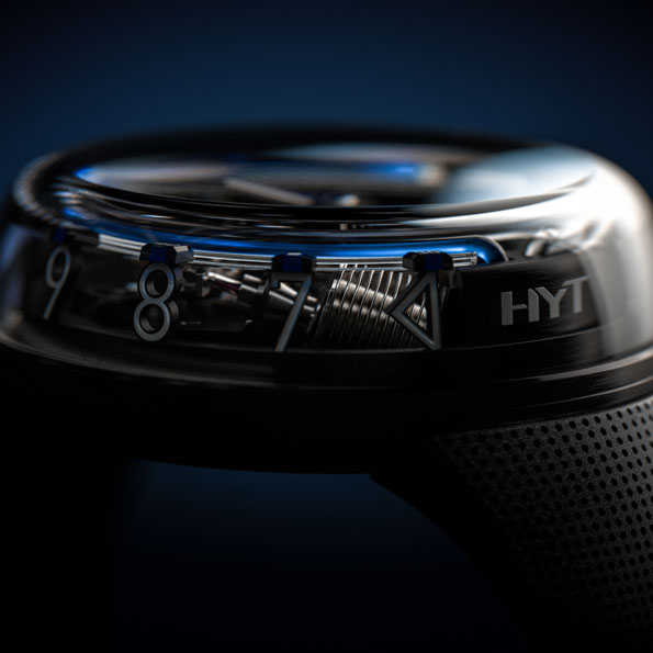 HYT H20 BLACK BLUE