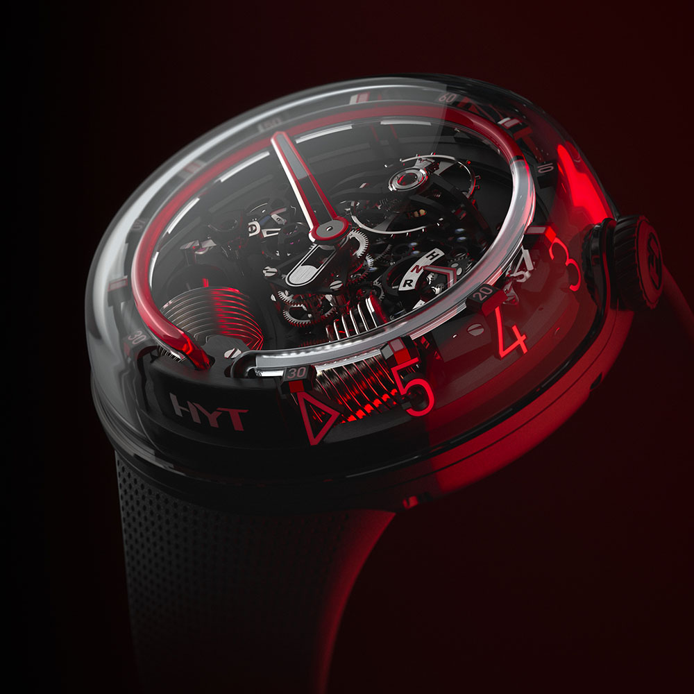 HYT H20 BLACK RED